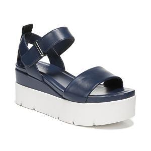 フランコサルト Franco Sarto レディース サンダル・ミュール シューズ・靴 Vanjie Platform Sandals Navy|fermart-shoes