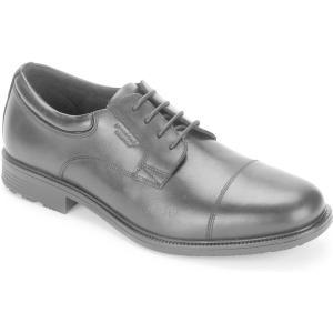 ロックポート Rockport メンズ 革靴・ビジネスシューズ シューズ・靴 Essential Details Waterproof Cap-Toe Oxford Black|fermart-shoes