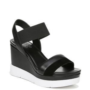フランコサルト Franco Sarto レディース サンダル・ミュール シューズ・靴 Kashmir Wedge Sandals Black|fermart-shoes