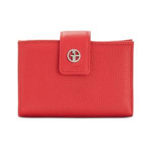 ジャーニ ベルニーニ Giani Bernini レディース 財布 Softy Leather Wallet Red/Silver fermart-shoes