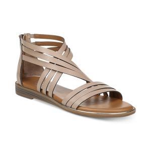 フランコサルト Franco Sarto レディース サンダル・ミュール シューズ・靴 Gaetana Flat Sandals Light Mocha|fermart-shoes