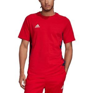 アディダス adidas メンズ サッカー Tシャツ トップス Tango Soccer T-Shirt Scarlet|fermart-shoes