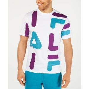 フィラ Fila メンズ Tシャツ トップス Logo Graphic T-Shirt Purple|fermart-shoes