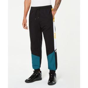 フィラ Fila メンズ ボトムス・パンツ Beckham Colorblocked Wind Pants Atlantic Deep/citrus|fermart-shoes