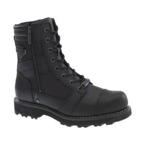 ハーレーダビッドソン Harley Davidson メンズ ブーツ シューズ・靴 Harley-Davidson Boxbury Motorcycle Riding Boot Blk Lac|fermart-shoes