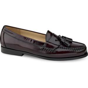 コールハーン Cole Haan メンズ ローファー シューズ・靴 Pinch Tassel Moc-Toe Loafers - Extended Widths Available Burgundy|fermart-shoes