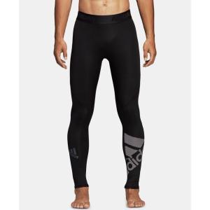 アディダス adidas メンズ タイツ・スパッツ インナー・下着 Alphaskin Leggings Black fermart-shoes