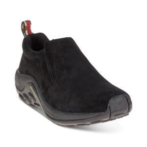 メレル Merrell レディース スリッポン・フラット シューズ・靴 Jungle Moc Slip-On Shoes Black|fermart-shoes