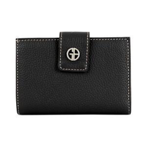 ジャーニ ベルニーニ Giani Bernini レディース 財布 Softy Leather Wallet Black/Silver fermart-shoes