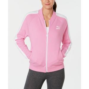 プーマ Puma レディース ジャージ アウター Classic T7 Relaxed Track Jacket Pale Pink fermart-shoes