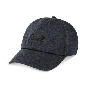アンダーアーマー Under Armour レディース キャップ 帽子 Twisted Renegade Free Fit Cap Black/Stealth Gray|fermart-shoes
