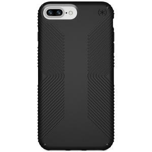 スペック Speck ユニセックス iPhone (8 Plus)ケース Presidio Grip iPhone 8 Plus Case Black/Black|fermart-shoes