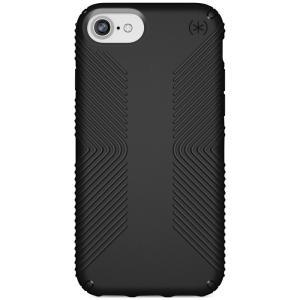 スペック Speck ユニセックス iPhone (8)ケース Presidio Grip iPhone 8 Case Black/Black|fermart-shoes