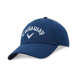 キャロウェイ Callaway レディース キャップ 帽子 Logo Golf Hat Navy|fermart-shoes