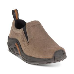 メレル Merrell レディース スリッポン・フラット シューズ・靴 Jungle Moc Slip-On Shoes Grey|fermart-shoes