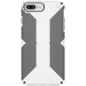 スペック Speck レディース iPhone (8 Plus)ケース Presidio Grip iPhone 8 Plus Case White/Black|fermart-shoes