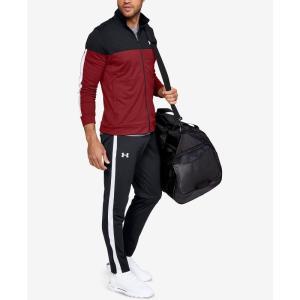 アンダーアーマー Under Armour メンズ スウェット・ジャージ ボトムス・パンツ Sportstyle Track Pants Black/white stripe|fermart-shoes