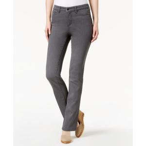 チャータークラブ Charter Club レディース ジーンズ・デニム ボトムス・パンツ Lexington Straight-Leg Jeans Horizon Grey|fermart-shoes