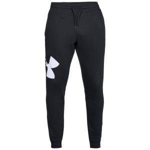 アンダーアーマー Under Armour メンズ ジョガーパンツ ボトムス・パンツ Rival Fleece Logo Joggers Black|fermart-shoes