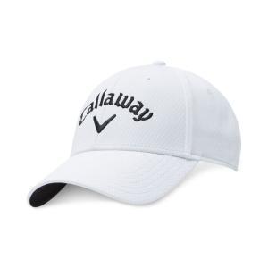 キャロウェイ Callaway レディース キャップ 帽子 Logo Golf Hat White|fermart-shoes