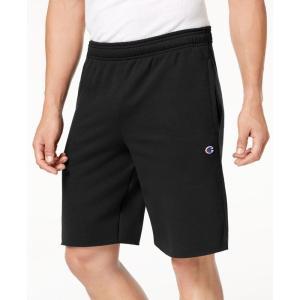 チャンピオン Champion メンズ ショートパンツ ボトムス・パンツ Fleece Shorts Black|fermart-shoes