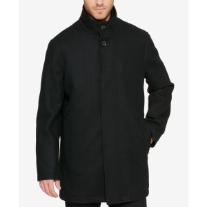 コールハーン Cole Haan メンズ コート アウター Overcoat Black|fermart-shoes