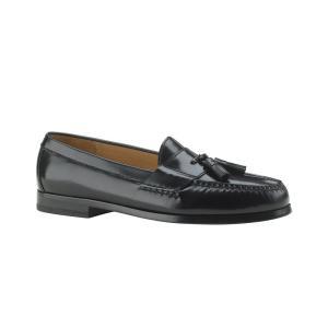 コールハーン Cole Haan メンズ ローファー シューズ・靴 Pinch Tassel Moc-Toe Loafers - Extended Widths Available Black|fermart-shoes