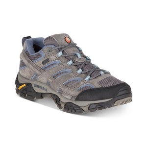メレル Merrell レディース スニーカー シューズ・靴 Moab 2 Waterproof Sneakers Granite|fermart-shoes