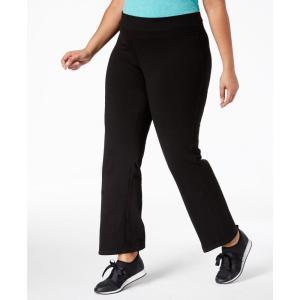 イデオロギー Ideology レディース ボトムス・パンツ ヨガ・ピラティス Plus Size Flex Stretch Active Yoga Pants Black|fermart-shoes