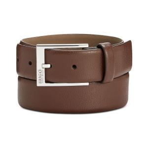 ヒューゴ ボス Hugo Boss メンズ ベルト Gellot Leather Belt Khaki fermart-shoes