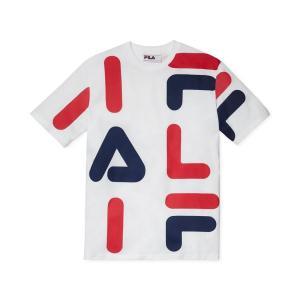 フィラ Fila メンズ Tシャツ トップス Logo Graphic T-Shirt White|fermart-shoes