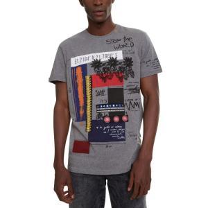 デジグアル Desigual メンズ Tシャツ トップス Domingo Graphic T-Shi...