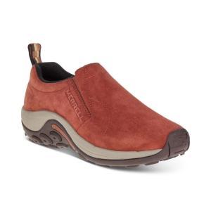 メレル Merrell レディース スリッポン・フラット シューズ・靴 Jungle Moc Slip-On Shoes Sequoia Orange|fermart-shoes