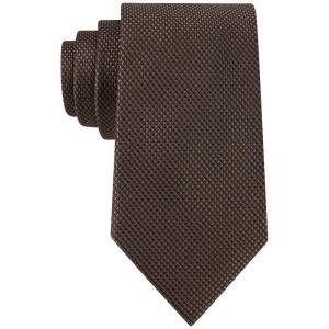 マイケル コース Michael Kors メンズ ネクタイ Sorento Solid Tie Brown fermart-shoes