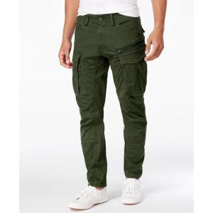 ジースター ロゥ G-Star Raw メンズ カーゴパンツ ボトムス・パンツ Rovic 3D Slim-Fit Tapered Cargo Pants Dk Bronze|fermart-shoes
