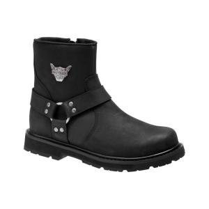 ハーレーダビッドソン Harley Davidson メンズ ブーツ シューズ・靴 Harley-Davidson Rambert Boot Blk Har|fermart-shoes