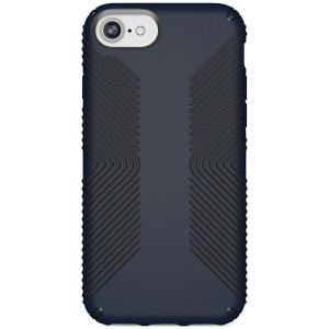 スペック Speck ユニセックス iPhone (8)ケース Presidio Grip iPhone 8 Case Eclipse Blue/Carbon Black|fermart-shoes