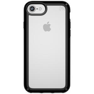 スペック Speck ユニセックス iPhone (8)ケース Presidio Show iPhone 8 Case Clear/Black|fermart-shoes