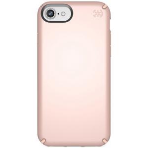 スペック Speck ユニセックス iPhone (8)ケース Presidio Metallic iPhone 8 Case Rose Gold Metallic/Dahlia Peach|fermart-shoes