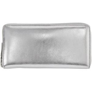 コム デ ギャルソン レディース 財布 Silver Continental Wallet|fermart-shoes