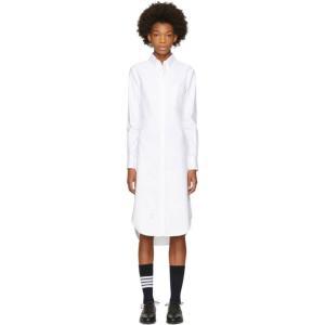 トム ブラウン レディース ワンピース ワンピース・ドレス White Classic Shirt Dress fermart-shoes
