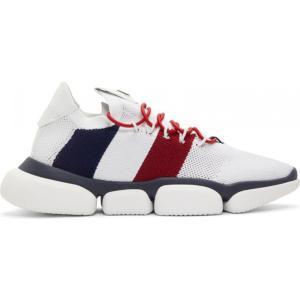 モンクレール Moncler メンズ スニーカー シューズ・靴 White Bubble Sneakers|fermart-shoes