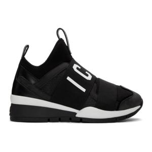 ディースクエアード Dsquared2 メンズ スニーカー シューズ・靴 Black 'Icon' Sneakers|fermart-shoes