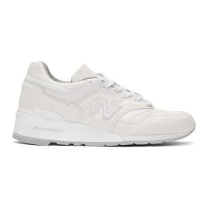 ニューバランス New Balance メンズ スニーカー シューズ・靴 White 997 Sneakers fermart-shoes