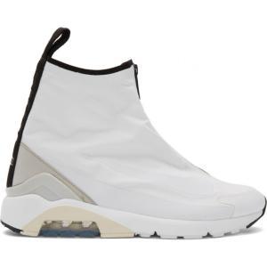 ナイキ NikeLab レディース スニーカー シューズ・靴 White Ambush Edition Air Max 180 Hi Sneakers|fermart-shoes