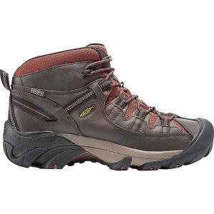 キーン メンズ ハイキング シューズ・靴 ハイキングシューズ Keen Targhee II Mid Waterproof Shoe Raven / Tortoise Shell|fermart-shoes
