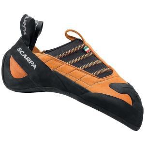 スカルパ メンズ クライミング シューズ・靴 クライミングシューズ Scarpa Instinct S Climbing Shoe Lite Orange|fermart-shoes