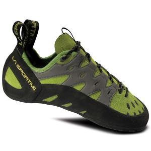 ラスポルティバ メンズ クライミング シューズ・靴 クライミングシューズ La Sportiva Tarantulace Climbing Shoe Kiwi / Grey|fermart-shoes