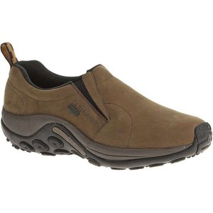 メレル メンズ シューズ・靴 Merrell Jungle Moc Nubuck Waterproof Shoe Brown|fermart-shoes