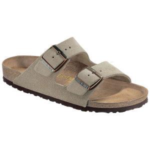 ビルケンシュトック メンズ シューズ・靴 サンダル Birkenstock Arizona Sandal Taupe Suede|fermart-shoes